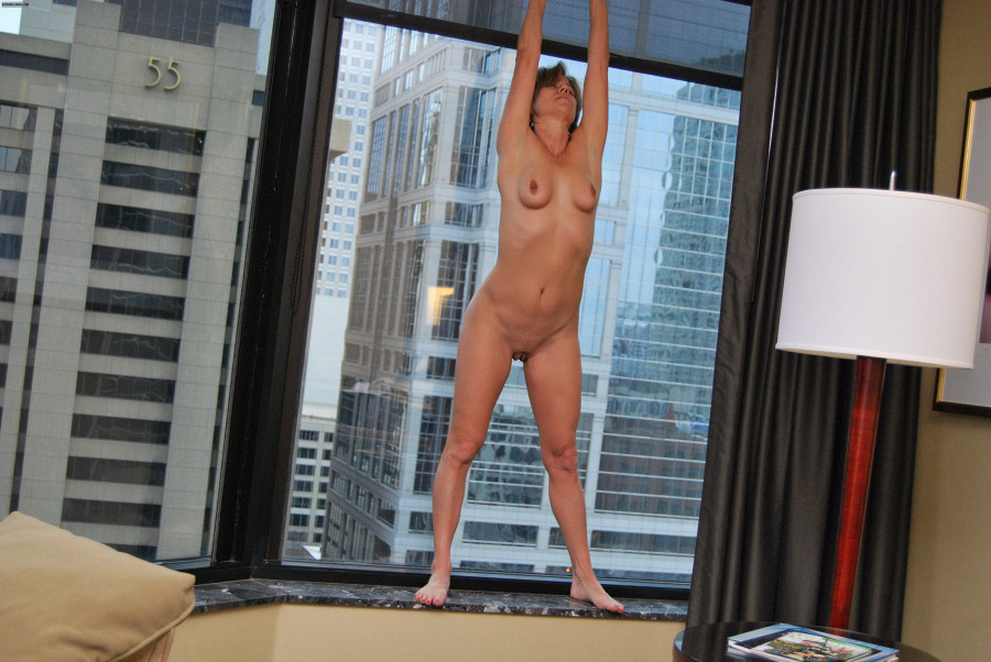 And wife nude in window