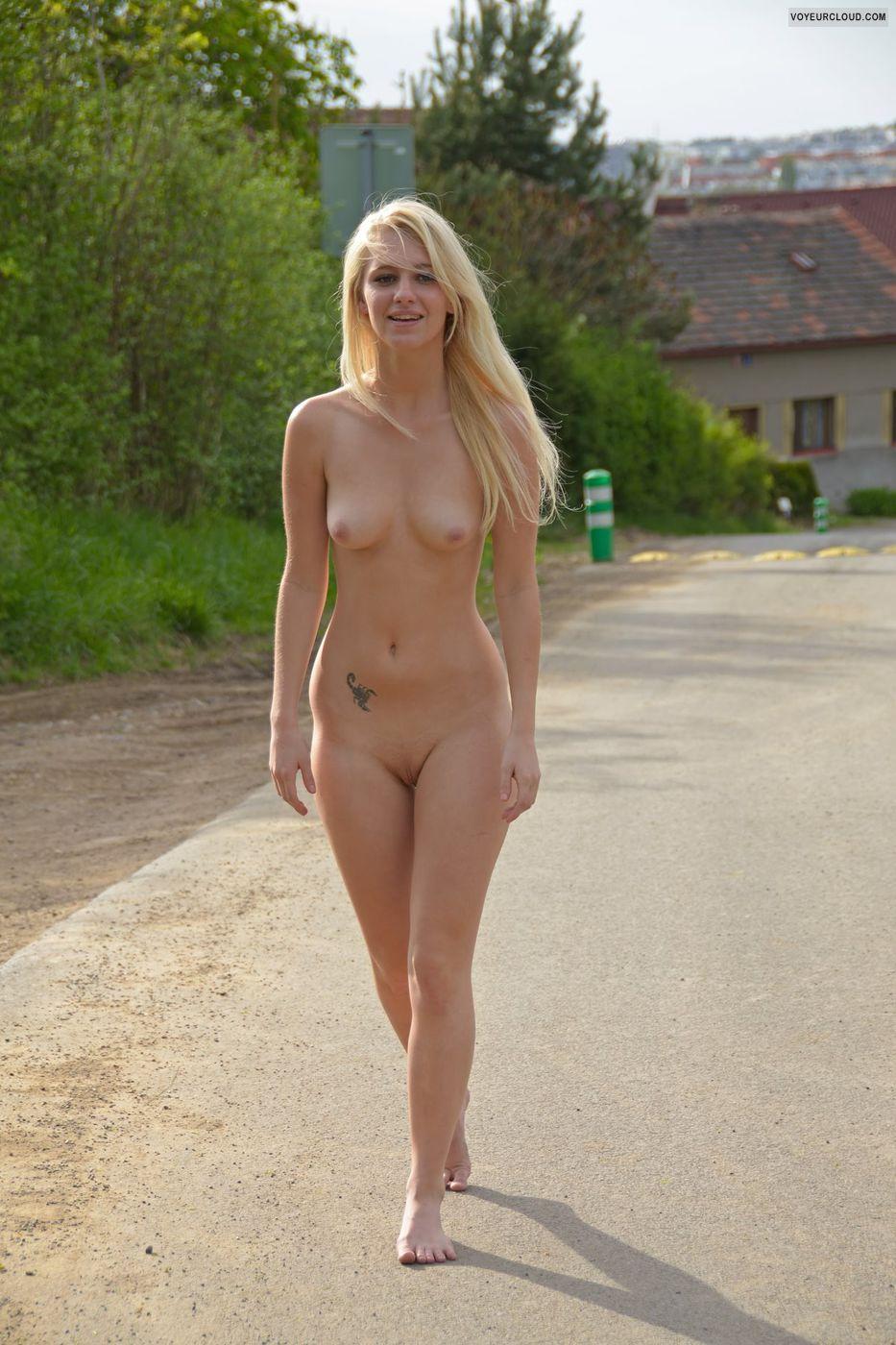 Terry Nude Public