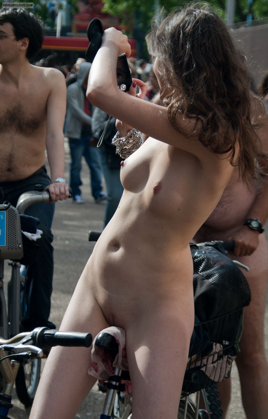 from Chace nude bike ride pussy