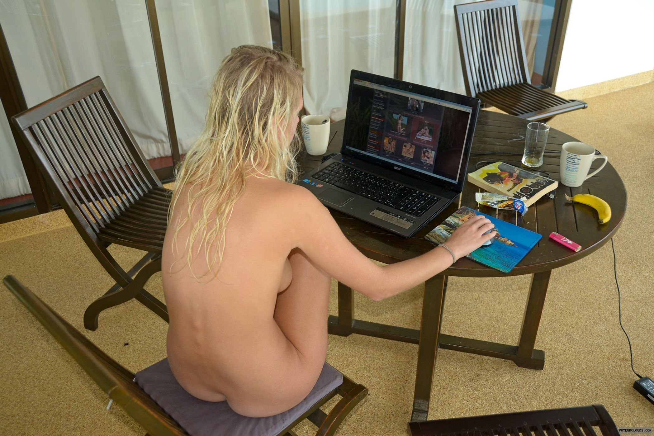 Virtual nudity nackt scene