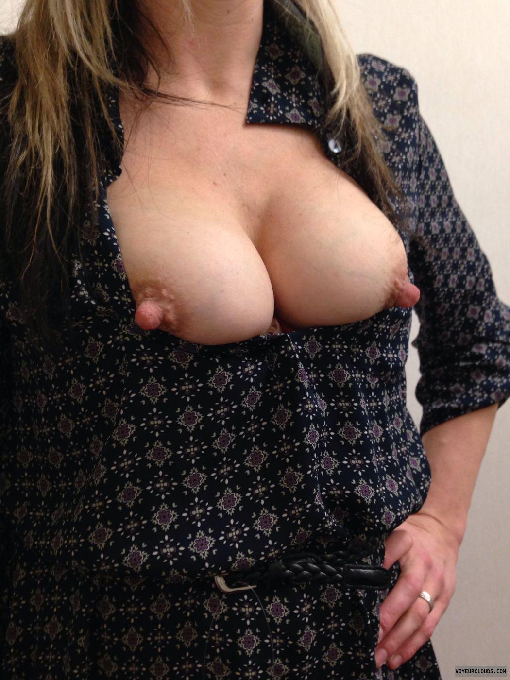 Small boobs hairy pussy