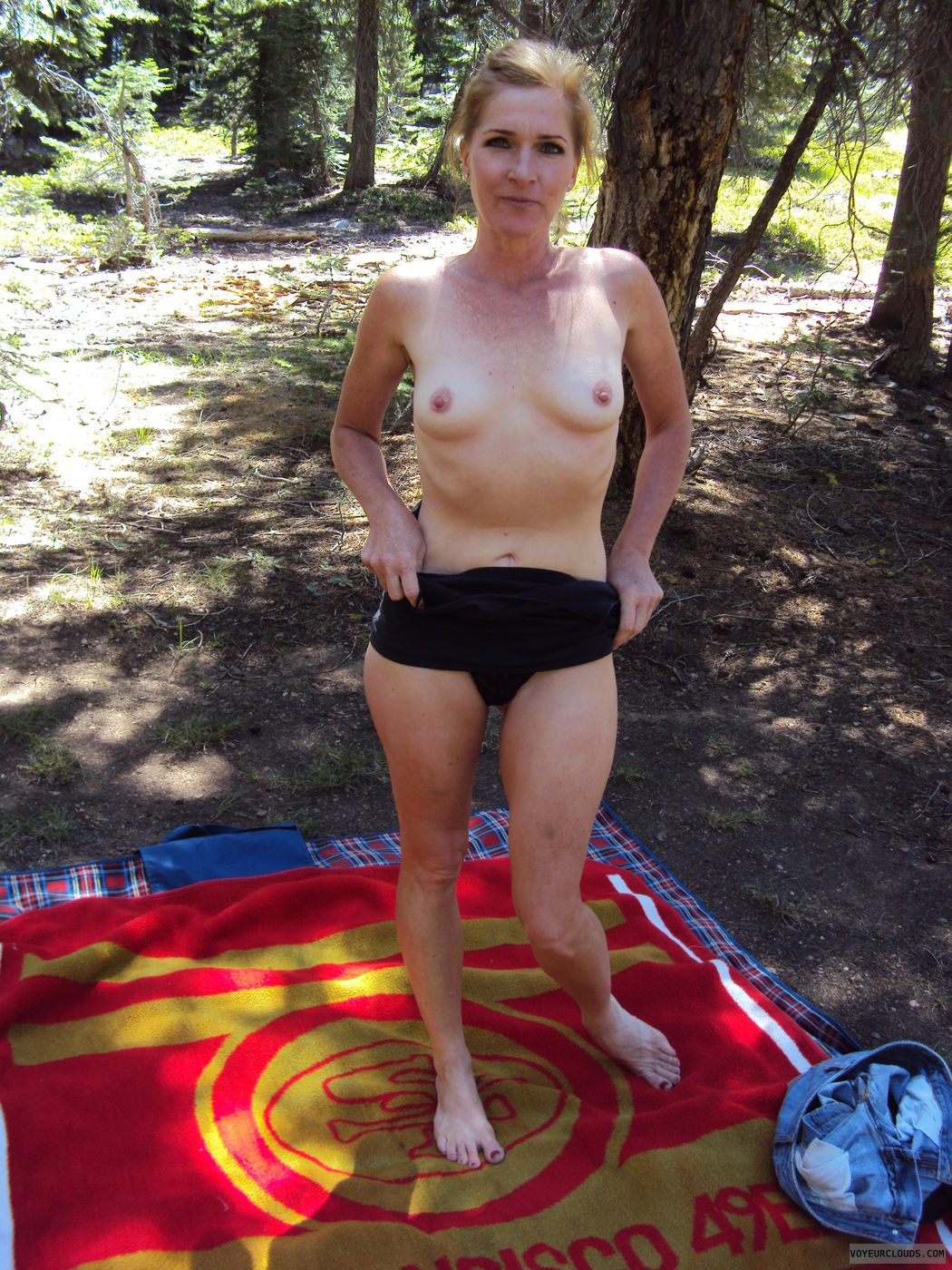 Will more hot milf camping camping very whore